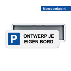 parkeerbord_60x20cm_zelf_ontwerpen